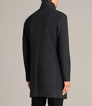 Hommes Manteau Reed (Charcoal Grey) - Image 6