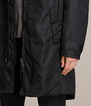Mens Kudi Parka Coat (Black) - product_image_alt_text_4