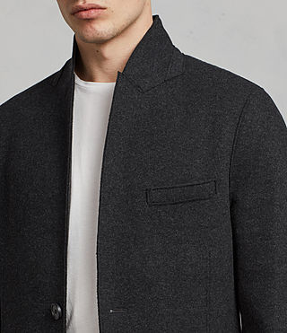 Uomo Cappotto Teralta (Charcoal Grey) - Image 2