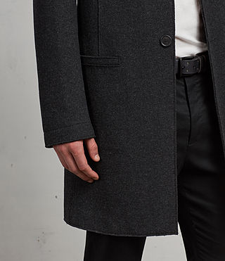 Uomo Cappotto Teralta (Charcoal Grey) - Image 3