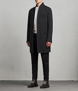 Uomo Cappotto Teralta (Charcoal Grey) - Image 4