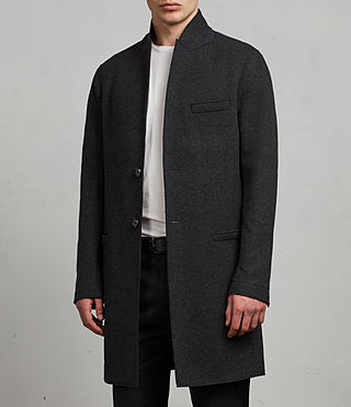 Uomo Cappotto Teralta (Charcoal Grey) - Image 5