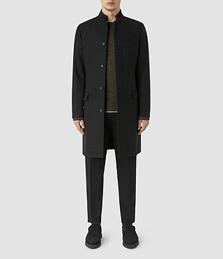 Mens Moylan Coat (Charcoal) - product_image_alt_text_1