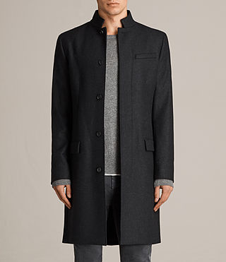 Hommes Manteau Moylan (Charcoal Grey)