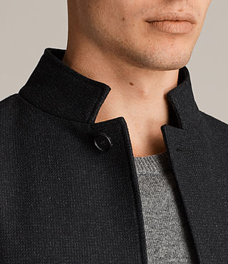 Hombres Moylan Coat (Charcoal Grey) - product_image_alt_text_2