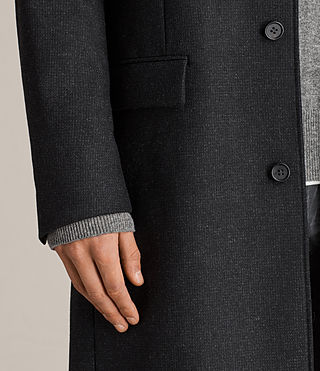 Hombres Moylan Coat (Charcoal Grey) - product_image_alt_text_3