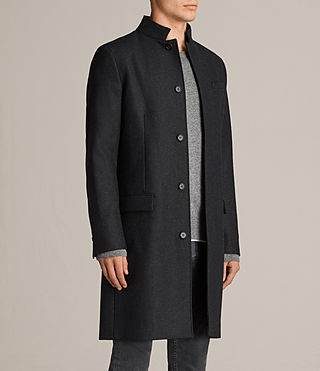 Hombres Moylan Coat (Charcoal Grey) - product_image_alt_text_4