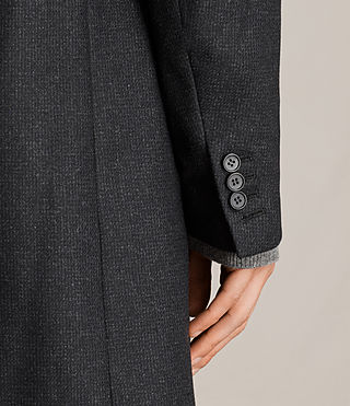 Hombres Moylan Coat (Charcoal Grey) - product_image_alt_text_5