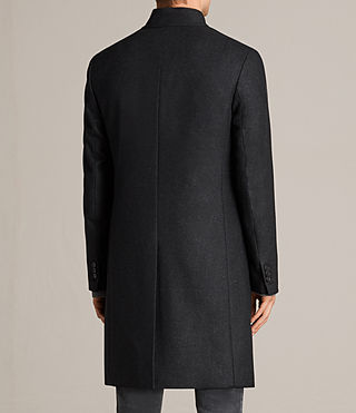 Hombres Moylan Coat (Charcoal Grey) - product_image_alt_text_6
