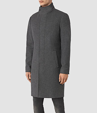 Hombres Valte Coat (Grey) - product_image_alt_text_4