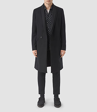 Herren Sutton Coat (Black) -