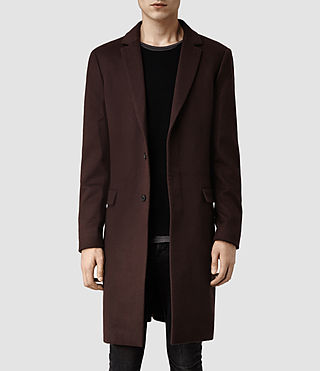 Mens Excess Coat (Puce)