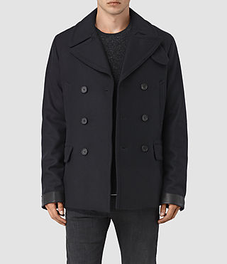 Mens Felix Peacoat (INK NAVY) - product_image_alt_text_1