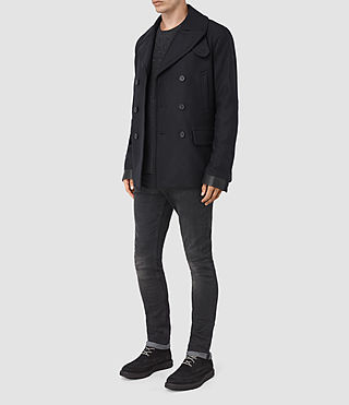 Mens Felix Peacoat (INK NAVY) - product_image_alt_text_2