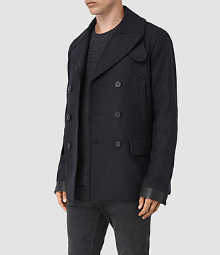 Mens Felix Peacoat (INK NAVY) - product_image_alt_text_3