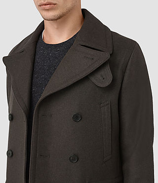 Hombres Felix Peacoat (CACAO) - product_image_alt_text_2