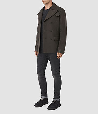 Hombres Felix Peacoat (CACAO) - product_image_alt_text_3
