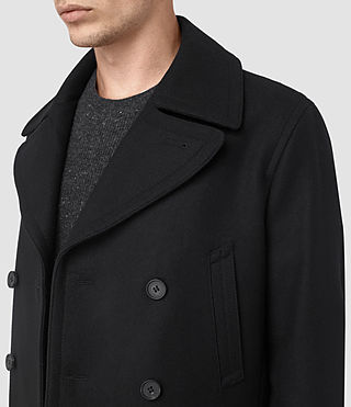 Mens Felix Peacoat (Black) - product_image_alt_text_4