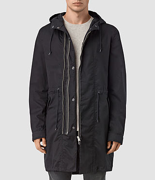 Mens Geo Parka (Black)