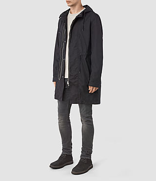 Men's Geo Parka (Black) - product_image_alt_text_2