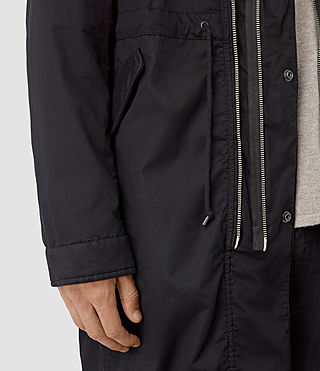 Men's Geo Parka (Black) - product_image_alt_text_3