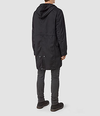 Men's Geo Parka (Black) - product_image_alt_text_4