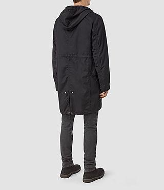Men's Geo Parka (Black) - product_image_alt_text_4