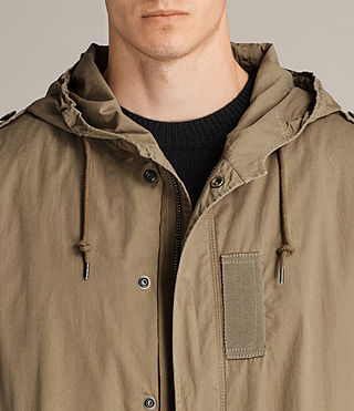 Hommes Parka Dundee (GOLDEN KHAKI GREEN) - product_image_alt_text_2
