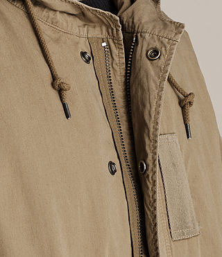 Hommes Parka Dundee (GOLDEN KHAKI GREEN) - product_image_alt_text_4