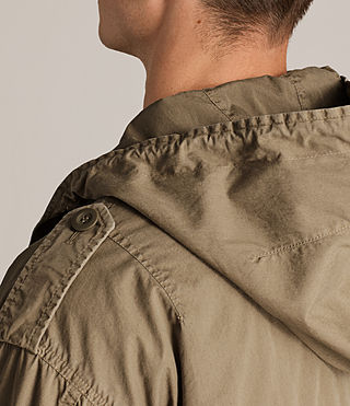 Hommes Parka Dundee (GOLDEN KHAKI GREEN) - product_image_alt_text_5