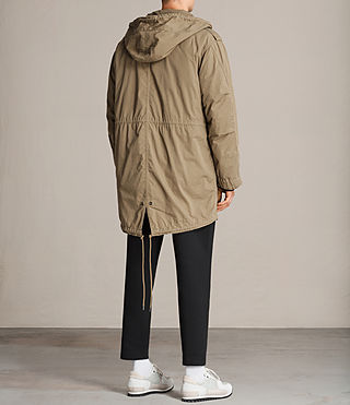 Hommes Parka Dundee (GOLDEN KHAKI GREEN) - product_image_alt_text_6