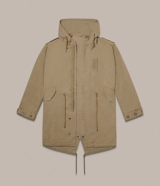 Hommes Parka Dundee (GOLDEN KHAKI GREEN) - product_image_alt_text_7