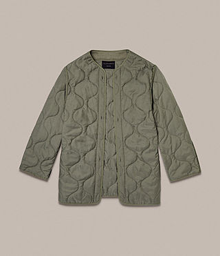 Hommes Parka Dundee (GOLDEN KHAKI GREEN) - product_image_alt_text_8