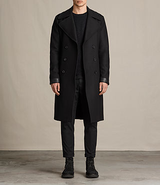 Mens Fenton Coat (Black)
