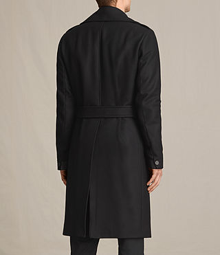 Men's Fenton Coat (Black) - product_image_alt_text_6