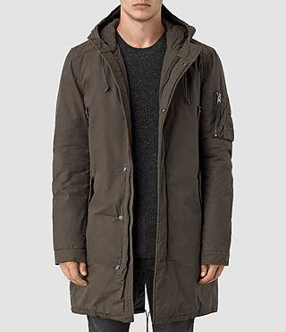 Men's Leyden Parka (Khaki Green) -