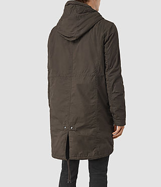 Men's Leyden Parka (Khaki Green) - product_image_alt_text_4
