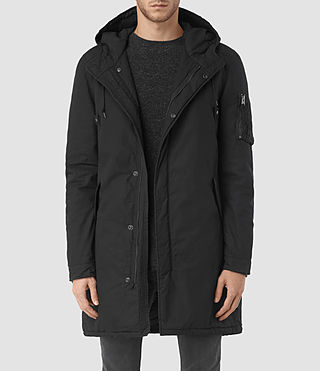 Mens Leyden Parka (Black)