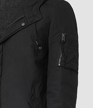 Men's Leyden Parka (Black) - product_image_alt_text_2