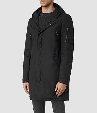 Men's Leyden Parka (Black) - product_image_alt_text_3