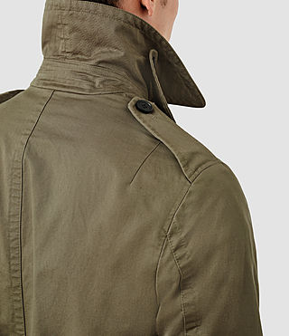 Mens Mies Mac (Khaki Green) - product_image_alt_text_2