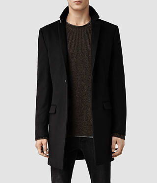 Mens Renzo Coat (Black)