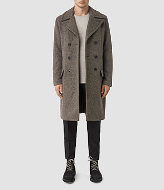 Mens Fyfe Coat (Grey) - product_image_alt_text_1