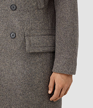 Mens Fyfe Coat (Grey) - product_image_alt_text_2