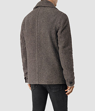 Mens Fyfe Peacoat (Grey) - product_image_alt_text_5