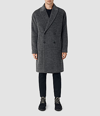 Mens Iverson Coat (Dark Grey)