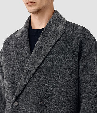 Hommes Iverson Coat (Dark Grey) - product_image_alt_text_2