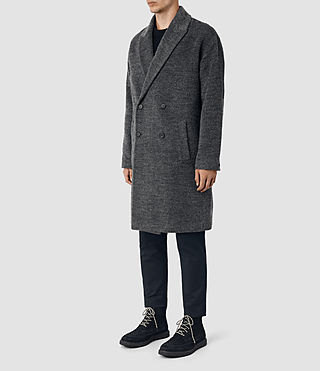 Hommes Iverson Coat (Dark Grey) - product_image_alt_text_3