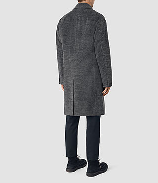Hommes Iverson Coat (Dark Grey) - product_image_alt_text_5