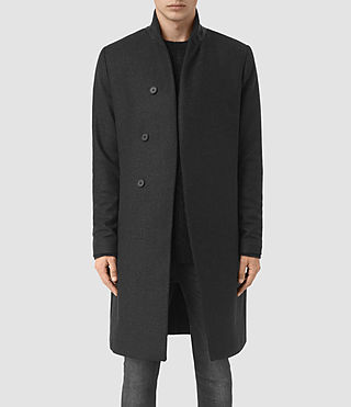 Hommes Lovell Coat (Black/Charcoal)
